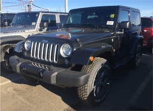 2016 JEEP WRANGLER SAHARA HIT THE TRAILS THIS SUMMER & ROCK &