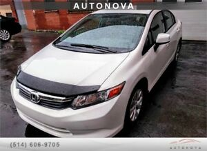 ***2012 HONDA CIVIC lX ***97000KM ONLY. 514-299-4706.  CELL: 514