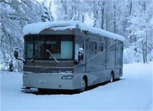 RV Winter Storage in the City