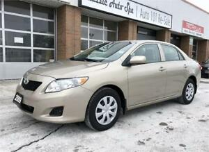 2009 Toyota Corolla CE ONLY 50000KM