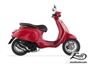 2018 VESPA SPRINT 50 ROUGE