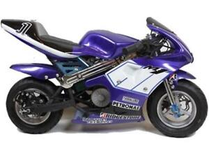 49cc Pocket bikes now on for $499.99! LIMITED TIME OFFER!