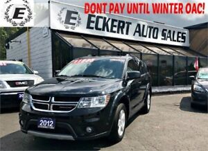 2012 Dodge Journey SXT WITH 3RD ROW SEATS / SUNROOF