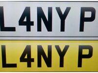 L4NY P Cherished plate