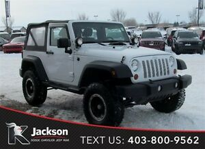 "2011 Jeep Wrangler Sport 4x4 - 2 door with  6"" Lift!"
