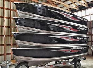 SmokerCraft Aluminum 14' Fishing Boats