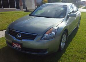 2008 Nissan Altima 2.5 S Sedan  BLUETOOTH LEATHER 2 yrs war