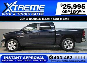 2013 DODGE RAM 1500 SLT CREW *INSTANT APPROVAL* $0 DOWN $189/BW