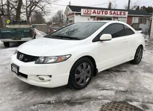 2010 Honda Civic Si Vtec/Certified/6 Speed/Accident Free