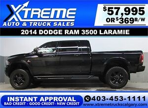 2014 RAM 3500 DIESEL LIFTED *INSTANT APPROVAL* $0 DOWN $369/BW!