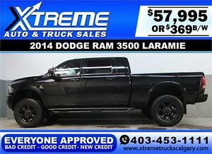 2014 RAM 3500 DIESEL LIFTED *EVERYONE APPROVED* $0 DOWN $369/BW!