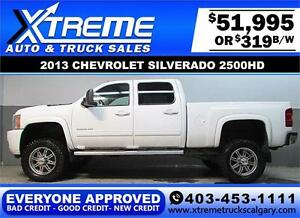 2013 CHEVY DIESEL LIFTED *EVERYONE APPROVED* $0 DOWN $319/BW!