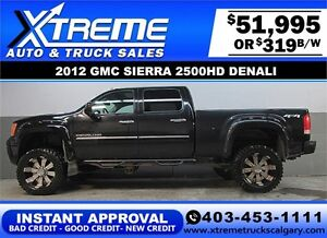2012 GMC DENALI DIESEL LIFTED *INSTANT APPROVAL* $0 DOWN $319/BW