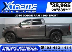 2014 DODGE RAM SPORT LIFTED *INSTANT APPROVAL* $0 DOWN $239/BW