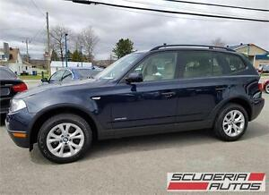 Bmw X3 2009, AWD, 1 Proprio, 96 000 Km, Impeccable !