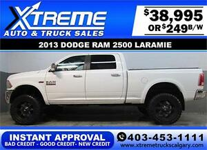 2013 RAM POWER WAGON LIFTED *INSTANT APPROVAL* $0 DOWN $249/BW