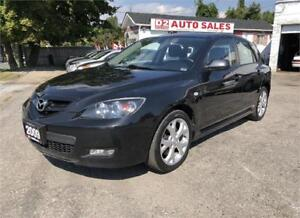 2009 Mazda 3 GS Certified/5 Speed Manual/Accident Free/Gas Saver