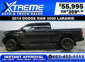 2014 RAM 3500 DIESEL LIFTED *INSTANT APPROVAL* $0 DOWN $359/BW