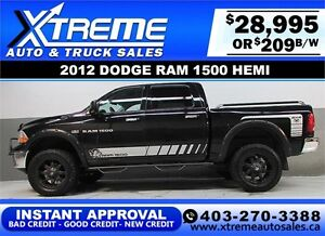 2012 DODGE RAM SLT LIFTED *INSTANT APPROVAL* $0 DOWN $209/BW