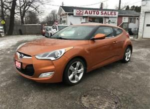 2012 Hyundai Veloster Certified/Accident Free/6 Speed/Backup Cam