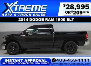 2014 DODGE RAM 1500 SLT CREW *INSTANT APPROVAL* $0 DOWN $209/BW