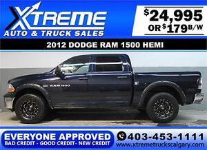 2012 DODGE RAM HEMI LIFTED *EVERYONE APPROVED* $0 DOWN $179/BW!