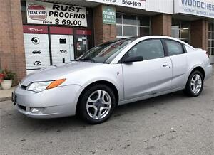 2004 Saturn Ion Quad Coupe Uplevel Leather