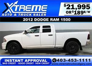 2012 DODGE RAM 1500 CREW *INSTANT APPROVAL* $0 DOWN $189/BW!