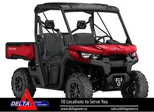 New 2017 Can-am Defender XT HD8 Side-By-Side