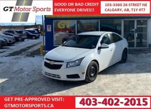 2013 Chevrolet Cruze LT Turbo | $0 DOWN - EVERYONE APPROVED!