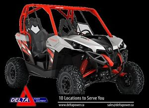 New 2017 Can-am Maverick DPS 1000R EFI Side-By-Sid