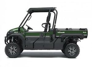 *Brand New* Kawasaki Mule PRO-FX EPS LE 3.9% or FREE Winch Kit!