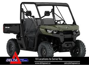 New 2017 Can-am Defender HD10 Side-By-Side