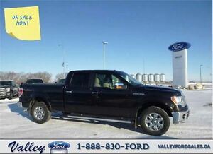 LOW KMS LARIAT with GREAT ADD-ONS! 2013 Ford F-150 CC 4X4