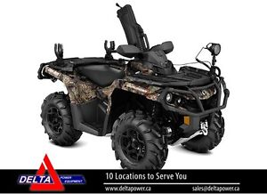 New 2017 Can-am Outlander Hunting Edition 1000R EF