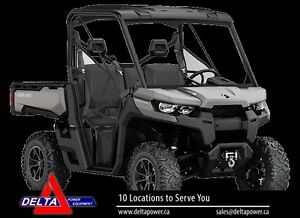 2016 Can-Am Defender XT Side-by-Side Utility Vehic London Ontario image 1