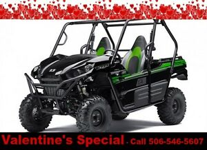 2017 Kawasaki Teryx 800 4x4   3.9% Financing or Free Accessories