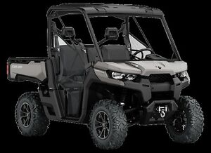 2016 Can-Am Defender XT Side-by-Side Utility Vehic