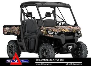 New 2017 Can-am Defender XT HD10 Side-By-Side
