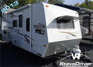 2013 KZ-RV Spree Escape E196S - lits superposés - 2915 lbs
