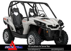 New 2017 Can-am Commander DPS 800R EFI Side-By-Sid
