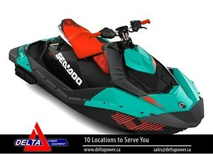 New 2017 SPARK TRIXX 2UP 900 HO ACE Sea-Doo