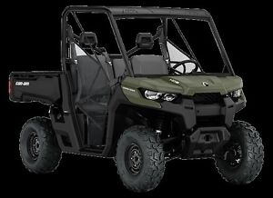 2016 Can-Am Defender Side-by-Side Utility Vehicle