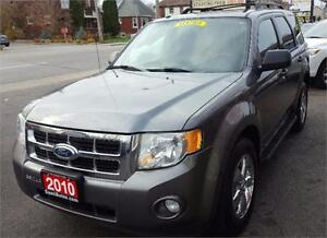 2010 Ford Escape XLT SUV,  BRAND NEW TIRES & BRAKES B.T 2 YRS WA