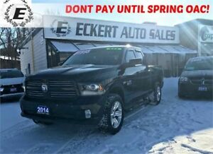 2014 RAM 1500 SPORT QUAD CAB 4X4 WITH RUNNING BOARDS