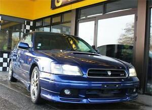 2000 Subaru Legacy B4 RSK AWD 81K's Twin-Turbo 276hp Auto 125
