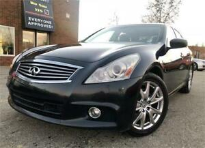 2012 INFINITI G37 Sedan Sport, $129 Bi-Weekly, Paddle Shifters