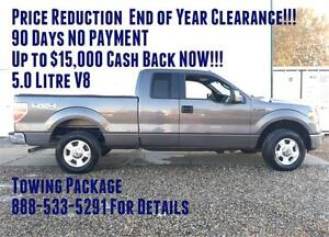 2014 Ford F-150 SuperCab 4x4 ~ 5.0L V8 ~ Tow Package $144 b/w