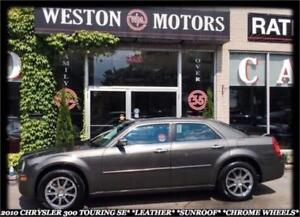2010 Chrysler 300 TOURING* LEATHER* SUNROOF* CHROME WHEELS