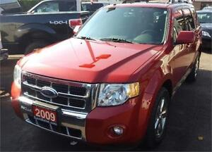 2009 Ford Escape Limited 2 YRS WAR
